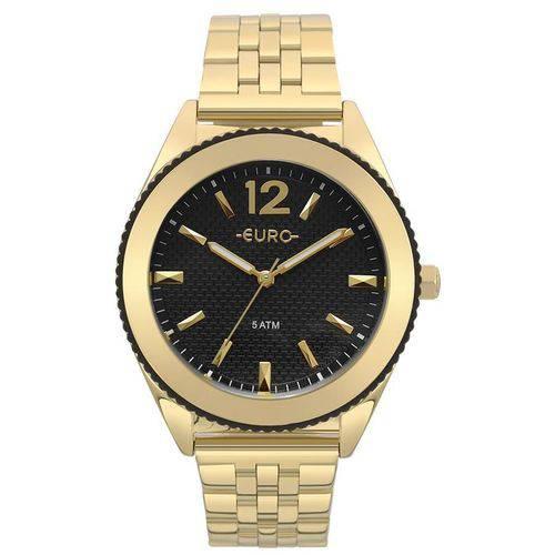 Relógio Euro Feminino Ref: Eu2036ymk/4p Fashion Dourado