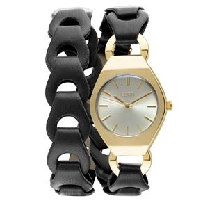 Relógio Feminino Analógico Euro EU2035FHD/2P - Preto