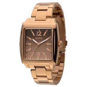 Relógio Feminino Analógico Euro EU2035LRY/4M - Rosé
