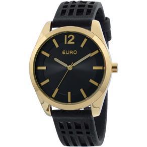 Relógio Feminino Analógico Euro EU2036LZE/2P - Preto