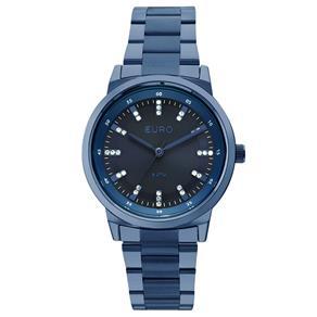 Relógio Feminino Analógico Euro EU2036YLI/4A - Azul