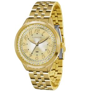 Relógio Feminino Analógico Lince Feminino LRG4330L C2KX - Dourado