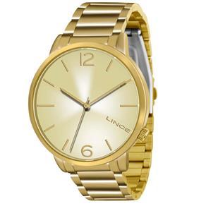 Relógio Feminino Analógico Lince Feminino LRGJ043L C2KX – Dourado