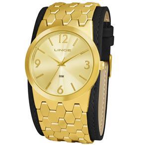 Relógio Feminino Analógico Lince LRC4224LC2PK - Dourado