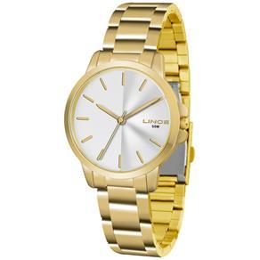 Relógio Feminino Analógico Lince LRG4482L - Dourado