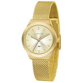 Relógio Feminino Analógico Lince LRG4493L - Dourado