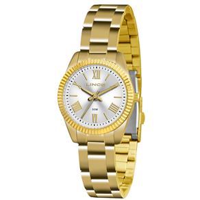 Relógio Feminino Analógico Lince LRG4492L-S3KX - Dourado