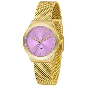 Relógio Feminino Analógico Lince LRG4493L-U1KX - Dourado