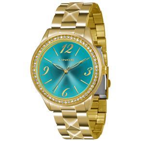 Relógio Feminino Analógico Lince LRG4343L - Dourado