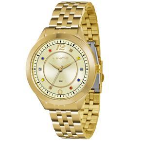 Relógio Feminino Analógico Lince LRG4324LC2KX - Dourado