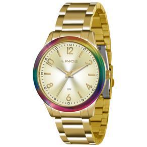 Relógio Feminino Analógico Lince LRG4359L - Dourado