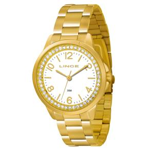 Relógio Feminino Analógico Lince LRGJ025L-S2KX - Dourado