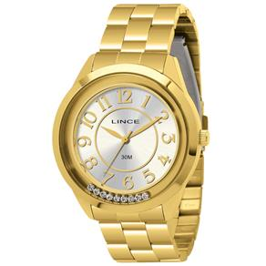 Relógio Feminino Analógico Lince LRGL001L S2KX - Dourado