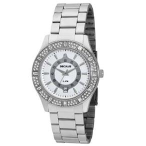 Relógio Feminino Analógico Seculus 28140L0SPNS1 - Cromado