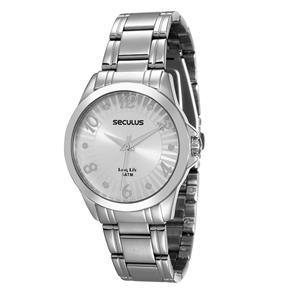 Relógio Feminino Analógico Seculus 28529L0SGNA1 - Cromado