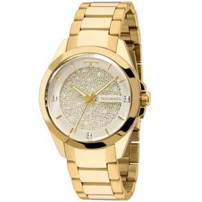 Relógio Feminino Analógico Technos 203AAA/4K - Dourada/Prata
