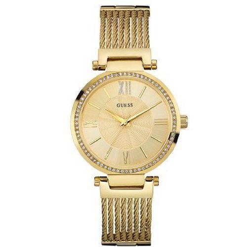 Tudo sobre 'Relógio Feminino Dourado Guess Analógico'