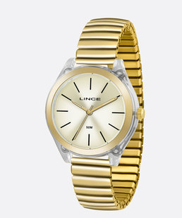 Relógio Feminino Lince LRG4484P C1KX