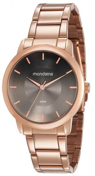 Relógio Feminino Mondaine 53606LPMVRE4 40mm Aço Rosê