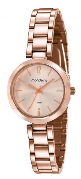 Relógio Feminino Mondaine 53611LPMVRE2 32mm Aço Rose