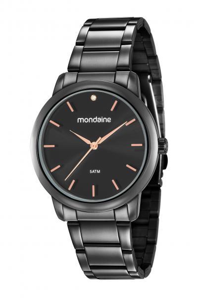 Relógio Feminino Mondaine 53616LPMVPE3 Preto