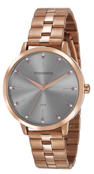 Relógio Feminino Mondaine 53659LPMVRE3 42mm Aço Rose