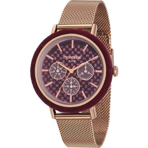 Relógio Feminino Mondaine 89011LPMVRE3 Rose