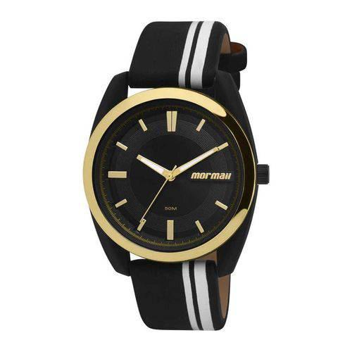 Relógio Feminino Mormai Mauí Mo2039ad/8p - Preto e Dourado