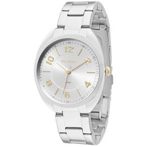 Relógio Feminino Technos Analógico Elegance Boutique - 2035MCG/1K - Prata