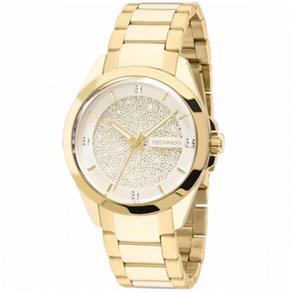 Relógio Feminino Technos Analógico Elegance Crystal - 203Aaa/4K - Dourado