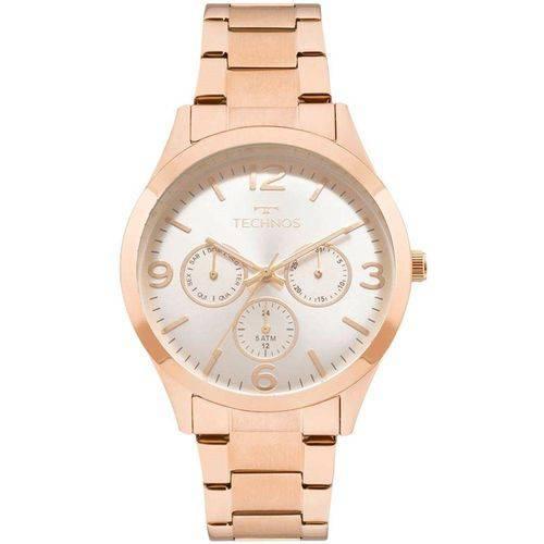 Tudo sobre 'Relógio Feminino Technos Analógico Elegance - Rose Gold 6p29ajm/4k'
