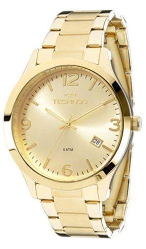 Relógio Feminino Technos Dourado 2315ACD/4X