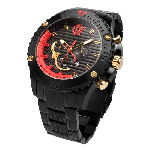 Relógio Flamengo CRF 1895 FLAOS2AAA/3R UN