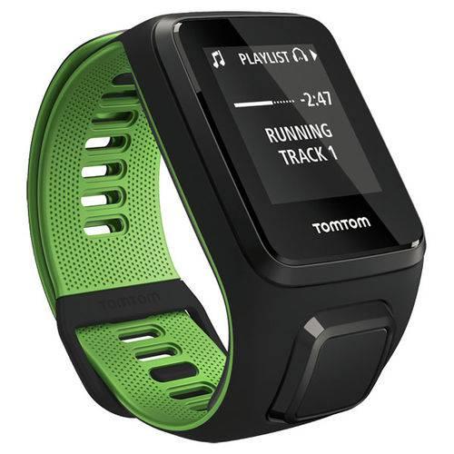 Tudo sobre 'Relógio Gps Tomtom Runner 3 Cardio Music Preto/verde'