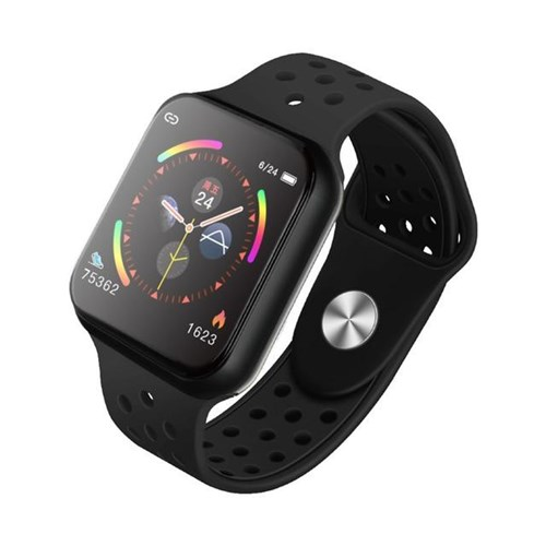 Tudo sobre 'Relogio Inteligente Smartwatch F90 / Preto Verde'