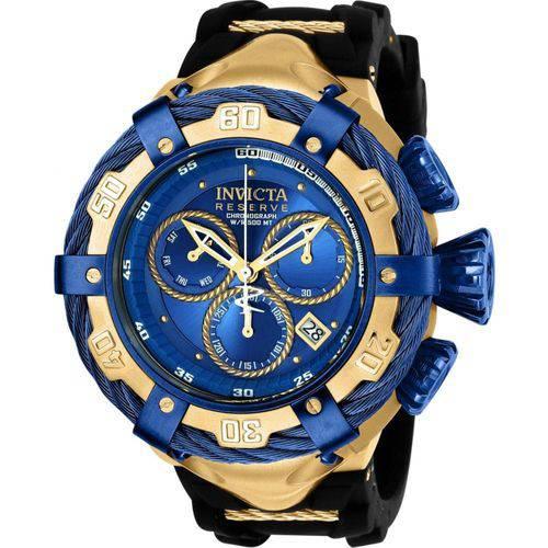 Tudo sobre 'Relógio Invicta Bolt Model 21354 Preto Azul'