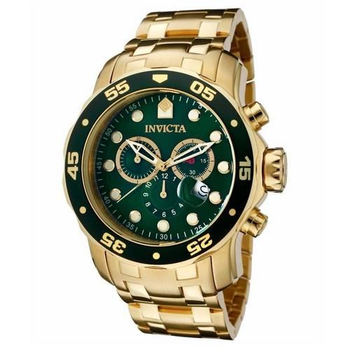 Tudo sobre 'Relógio Invicta Pro Diver 0075 Dourado Masculino'