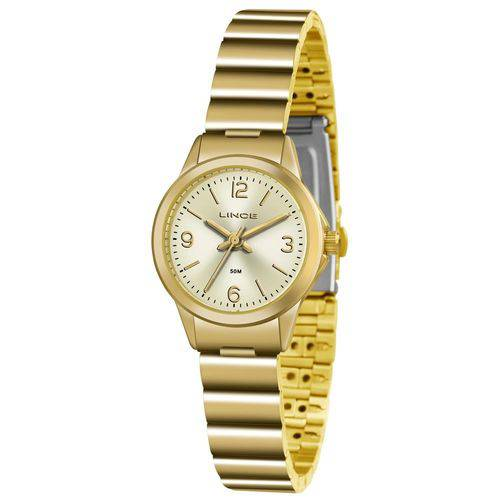 Tudo sobre 'Relógio Lince Feminino Ref: Lrg4434l C2kx Clássico Dourado'