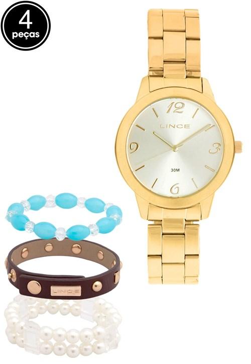 Relógio Lince LRG4297L K098C2KX Dourado