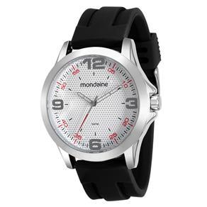 Relógio Masculino Analógico Mondaine 99188G0MVNI1 - Preta/Prateado