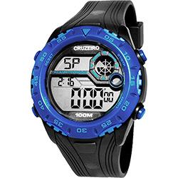 Relógio Masculino Clubes Technos Digital Casual Cruzeiro Casual CRU1360B/8A
