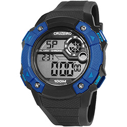 Relógio Masculino Clubes Technos Digital Casual Cruzeiro CRU1360A/8A