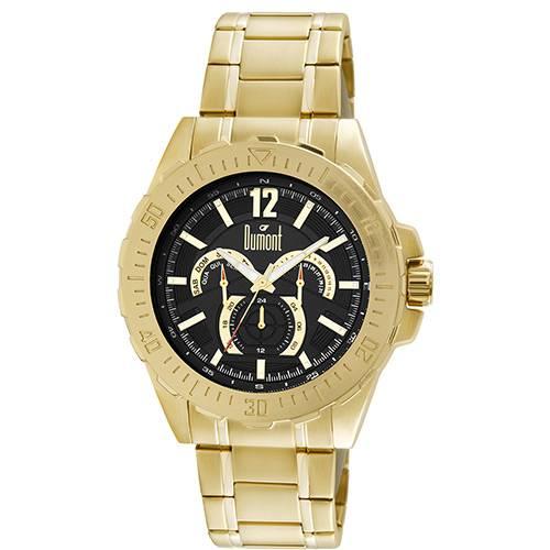 Tudo sobre 'Relógio Masculino Dumont Multifunção Moderno DU6P29ABT/4P'