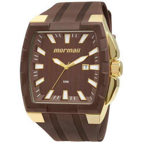 Tudo sobre 'Relógio Masculino Mormaii MO2115AD/8M 46mm Marrom'