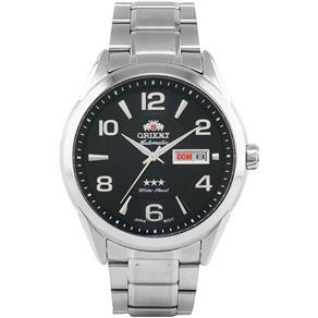 Relógio Masculino Orient Automático 469SS052 G2SX - Prata