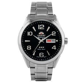 Relógio Masculino Orient Automático Prata 469SS052 G2SX