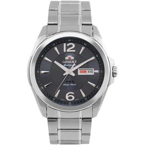 Relógio Masculino Orient Automático Prata 469SS050 G2SX