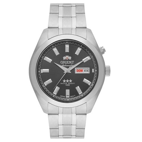 Relógio Masculino Orient Automático Prata 469SS075G1SX