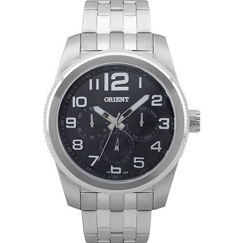 Tudo sobre 'Relógio Masculino Orient Multifunção Prata MBSSM046 P2SX'