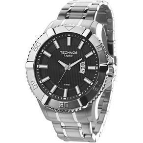 Relógio Masculino Technos 2115KOV/1P Legacy Prata
